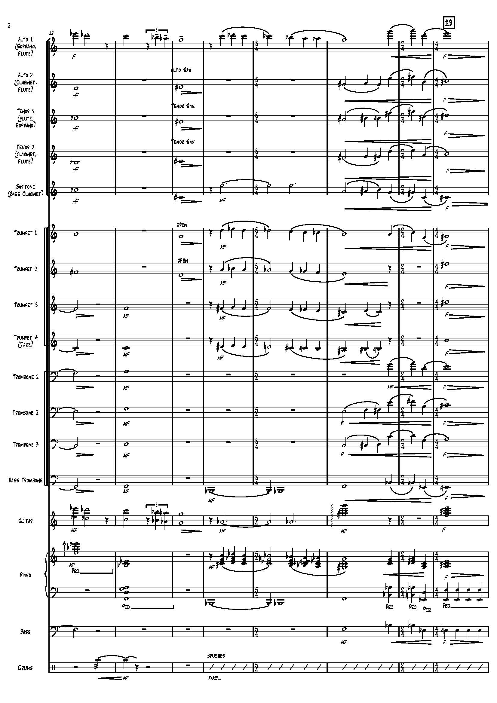 Browse charts by Style: Swing-Up Tempo, UNC Jazz Press, jazz