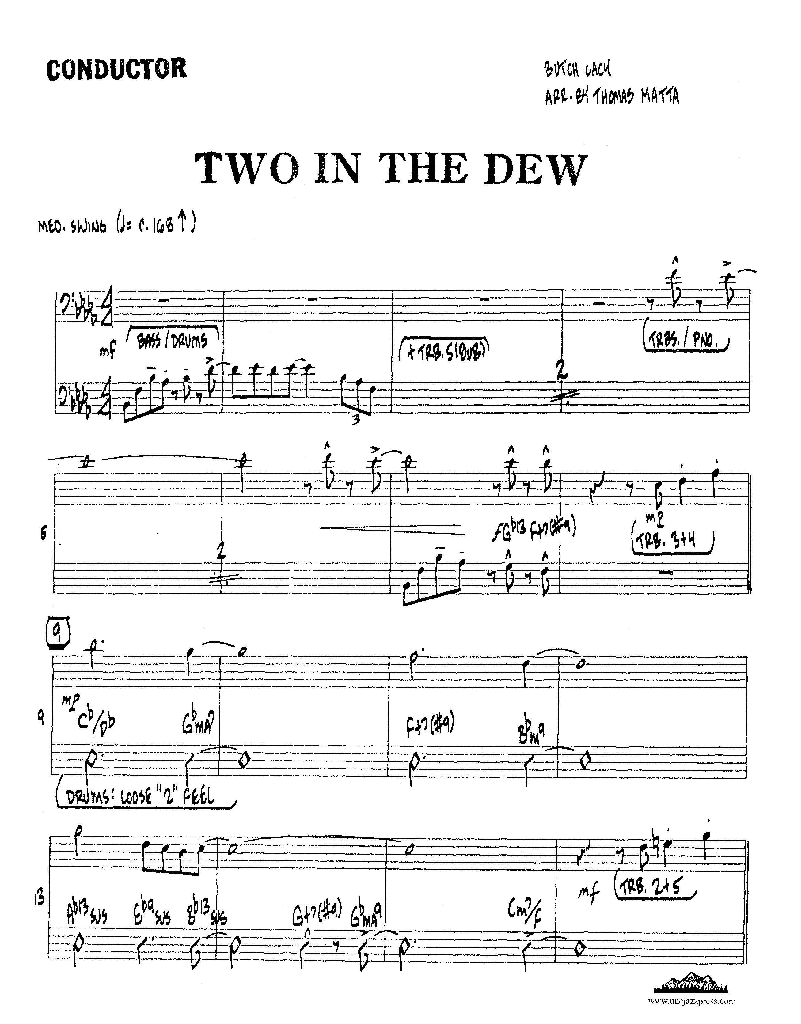 Browse charts by Style: Swing-Medium, UNC Jazz Press, jazz
