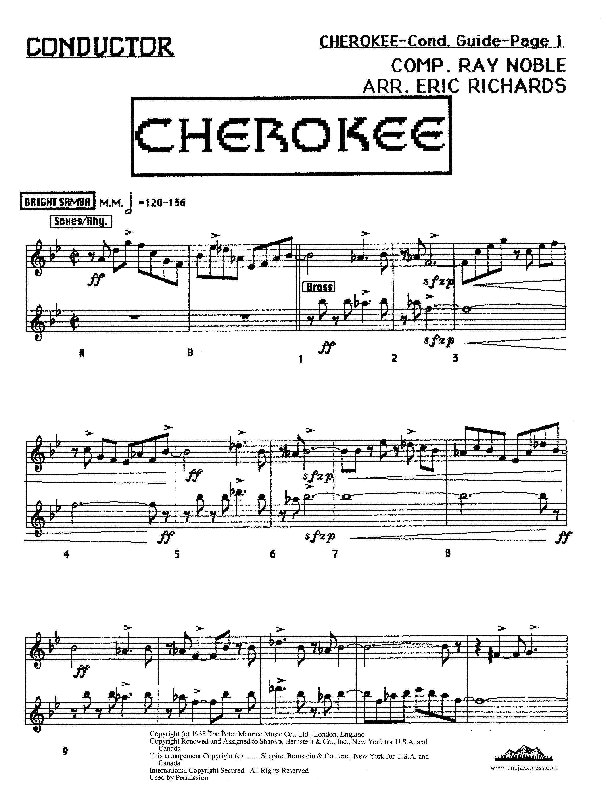 Cherokee - PDF Download, by Eric Richards